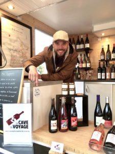 Muscadet, Nantes, La cave en Voyage, Wine truck, Anthony Godicheau